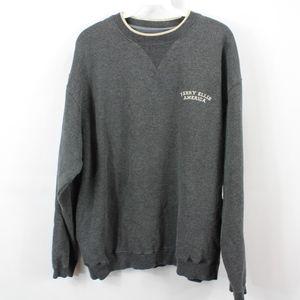 Vintage PERRY ELLIS Mens Large Crewneck Sweatshirt